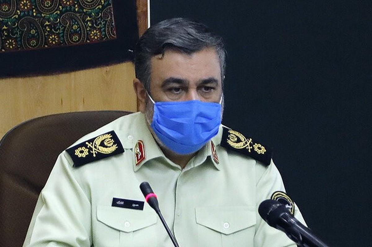فرمانده ناجا: عزاداران حسینی در مرزهای ایران و عراق تردد نکنند