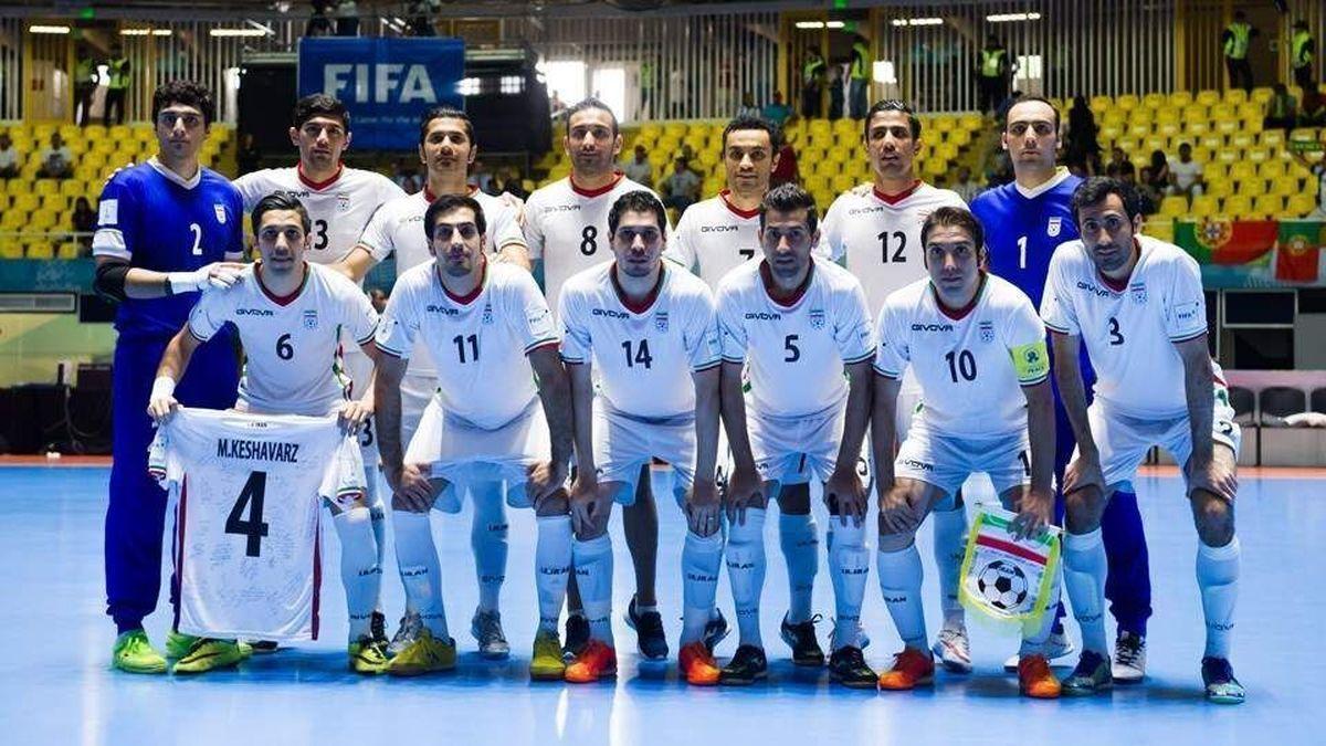 فوتسال ایران  |  تیم ملی در جایگاه ششم جهان و اول آسیا ماند.