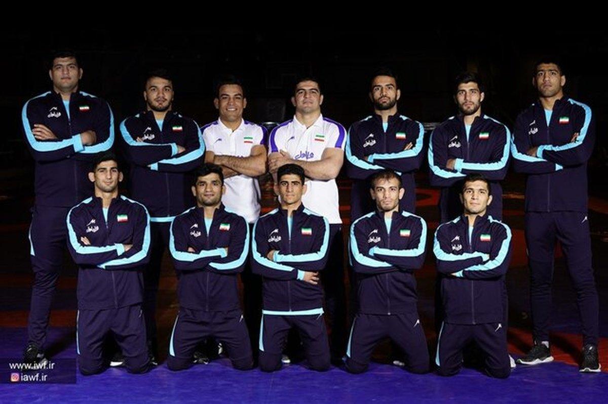 فرنگی کاران ایران در رقابتهای قهرمانی آسیا رقبای خود را شناختند