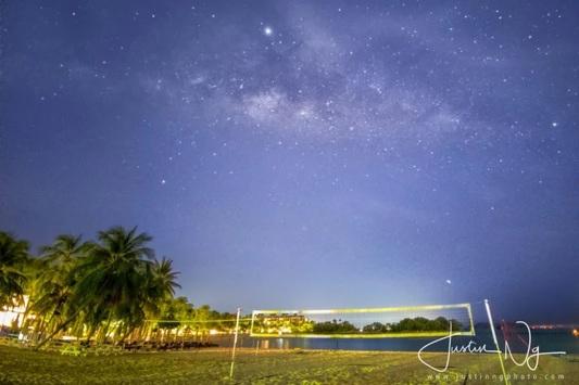 عکاسی از کهکشان راه شیری با وجود بالاترین حد آلودگی نوری