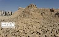 تخریب بیسروصدای تپه ۸ هزار ساله ثبت ملی در قرچک