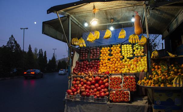 وانتیهای میوه فروش