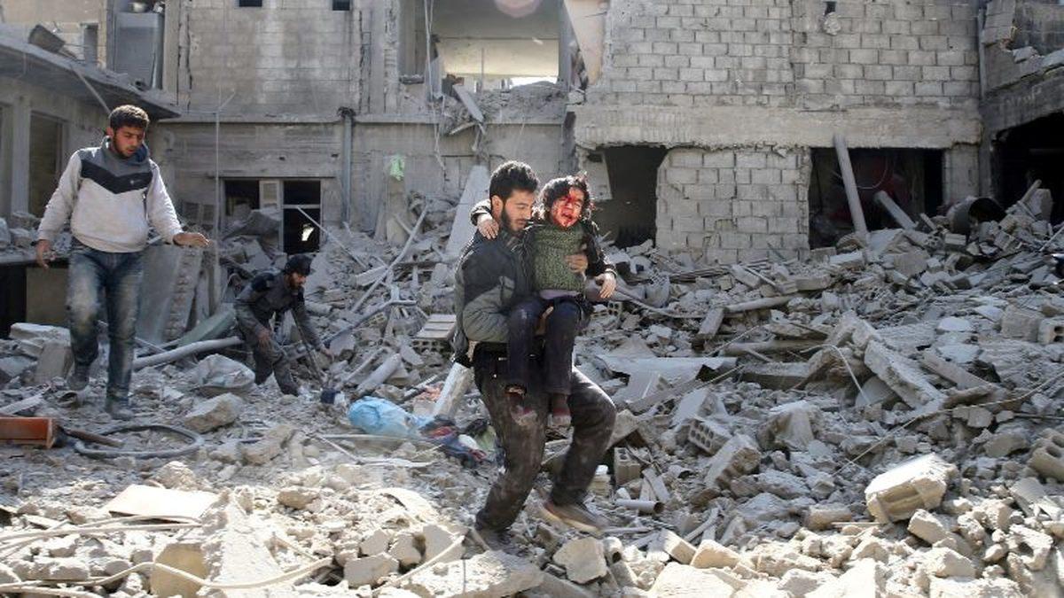 79 غیرنظامی در حملات ائتلاف آمریکایی به سوریه کشته شدند