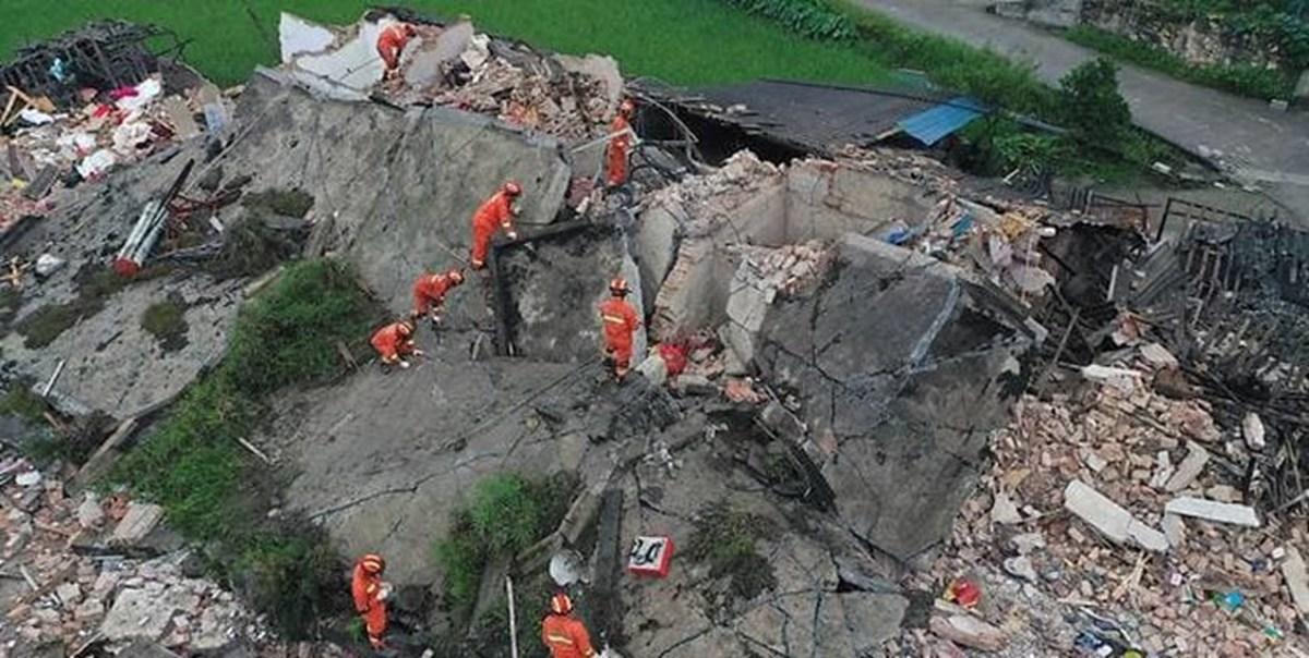 زمینلرزه 6 ریشتری در چین 12 کشته و 134 زخمی برجا گذاشت