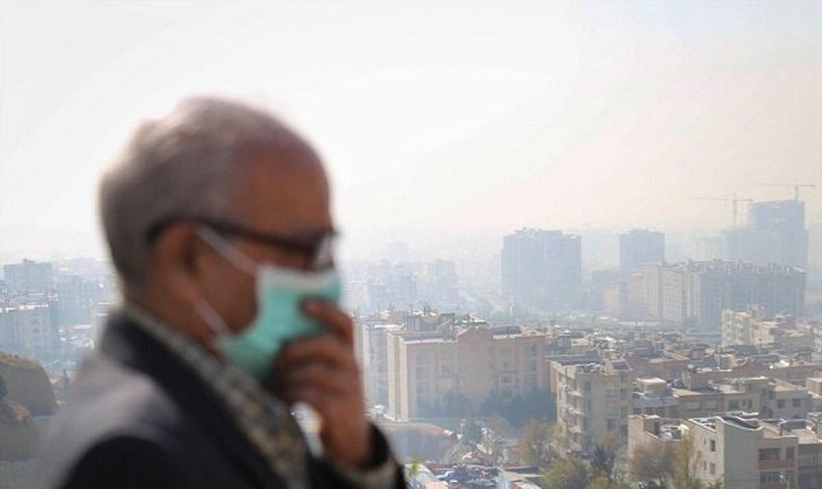 هوای تهران برای گروههای حساس: ناسالم