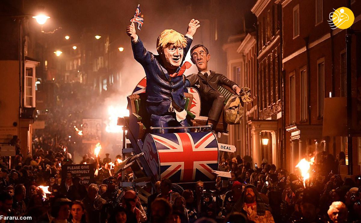 جشن شب آتش در انگلیس