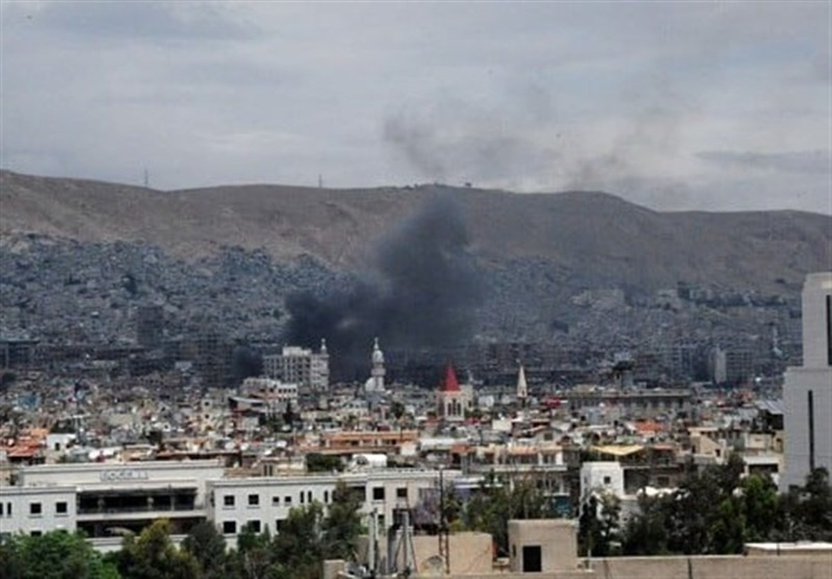 شنیده شدن صدای انفجار در دمشق
