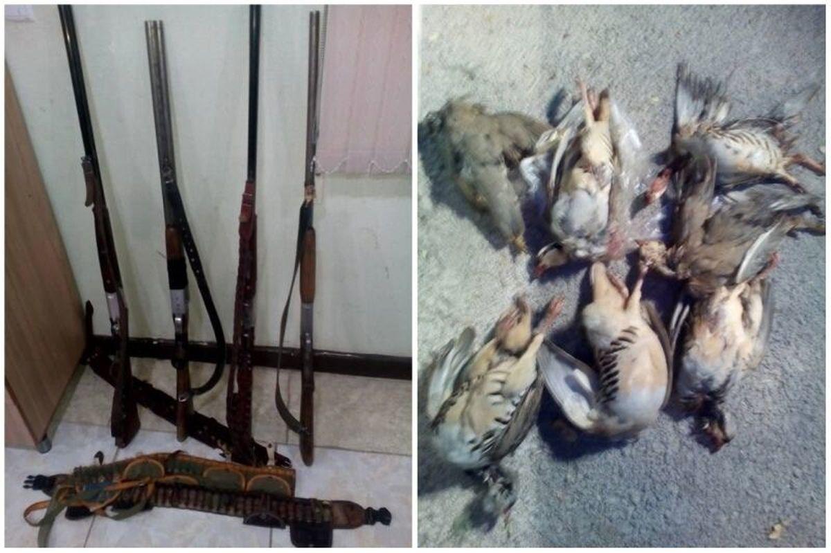 ۷ متخلف زیست محیطی در چهارمحال وبختیاری دستگیر شدند