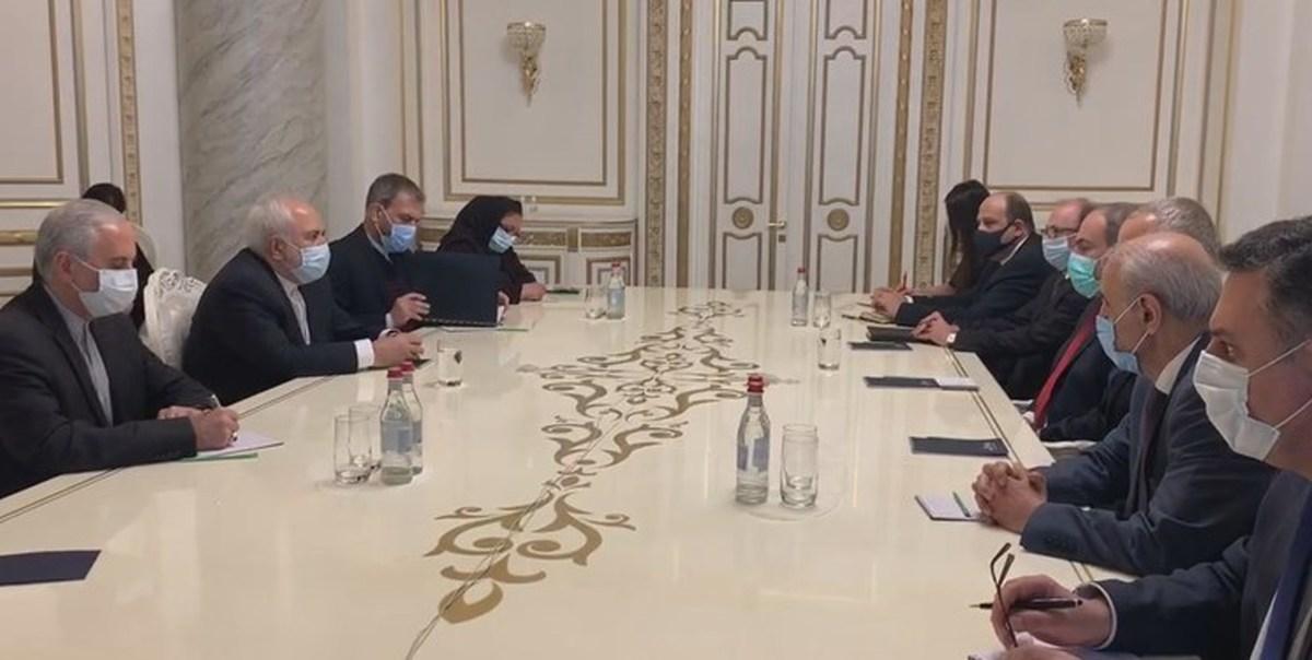 دیدار ظریف با نیکول پاشینیان | روابط با ایران دارای اهمیت راهبردی برای کشور ما است