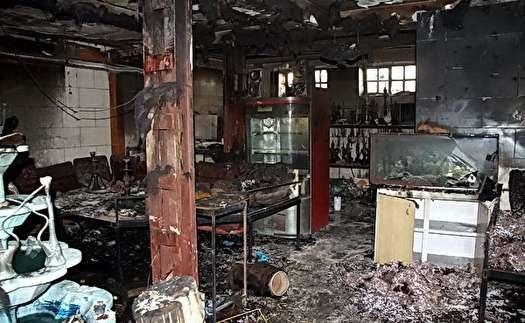 حریق  |  یک نفر در آتشسوزی بازار پردیس جان باخت.