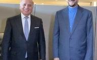 دیدار امیرعبداللهیان با وزیر خارجه عراق در نیویورک | وزارت خارجه: دو طرف توافق کردند تا بحث انتقال پولهای ایران جدیتر از قبل پیگیری شود