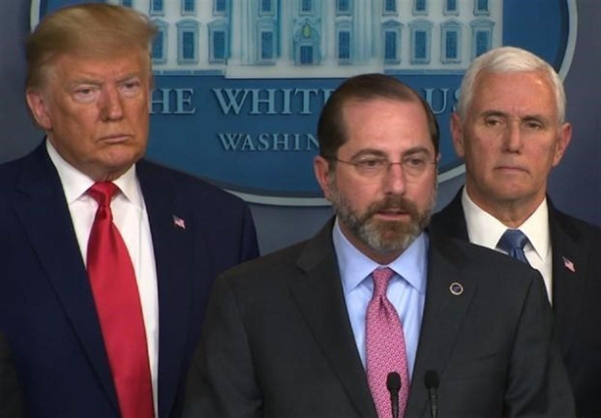 وزارت بهداشت آمریکا      با بایدن همکاری نمیکنیم