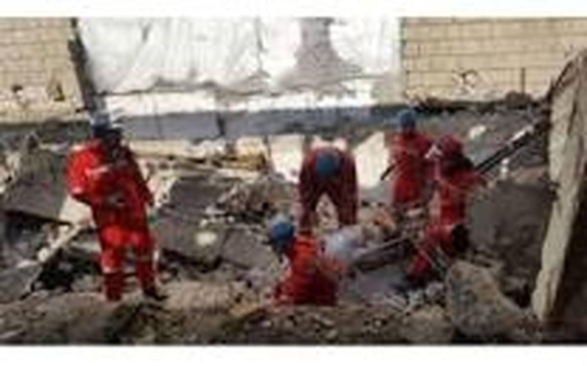 وقوع حریق در یک ساختمان در حال ساخت  مرگ کارگر جوان را رقم زد