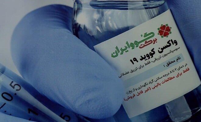 نتیجه فاز اول واکسن کووبرکت ۱۶ اسفند به سازمان غذا و دارو ارایه میشود