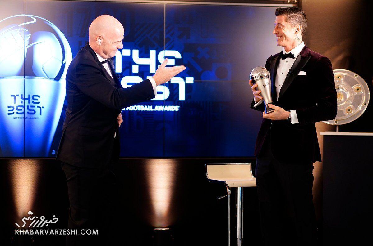بهترینهای سال ۲۰۲۰ فیفا  |  روبرت لواندوفسکی بهترین بازیکن سال شد