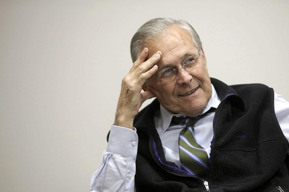 فوت دونالد رامسفلد وزیر اسبق دفاع آمریکا