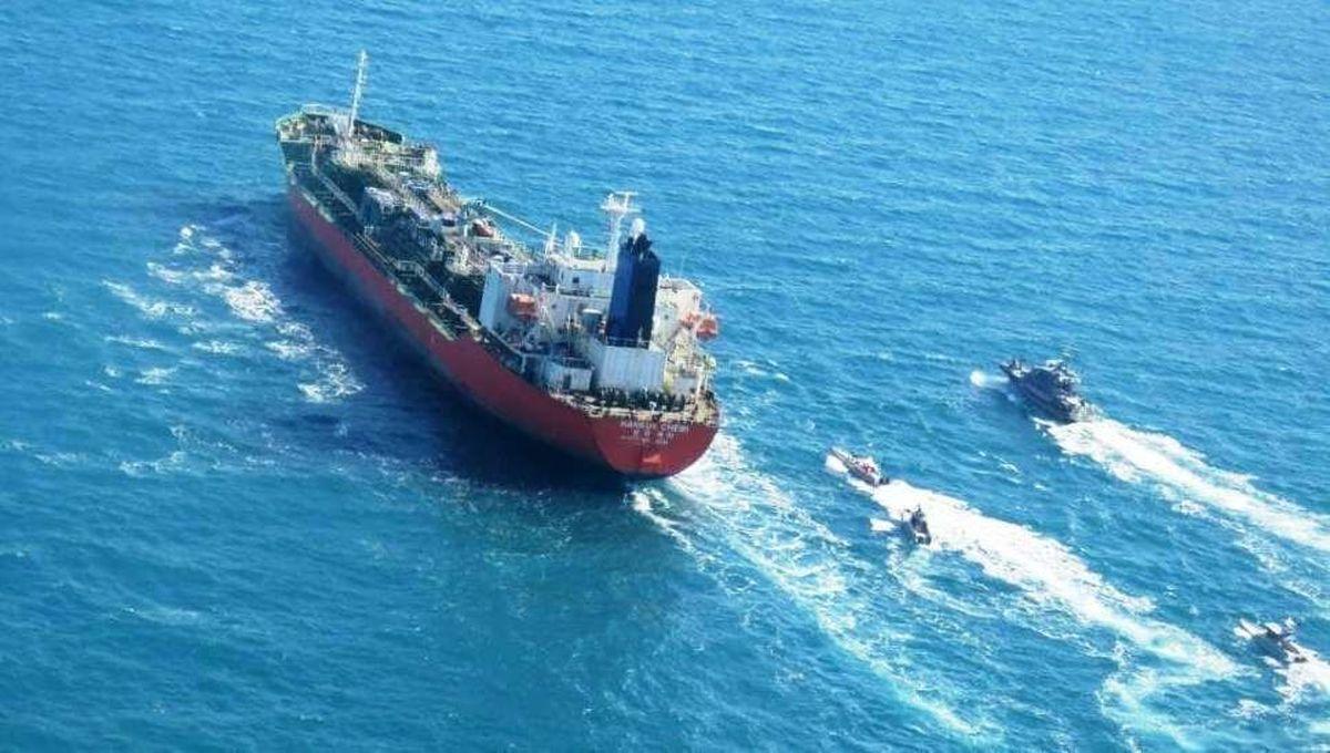 ایران کشتی توقیف شده کره جنوبی را آزاد کرد