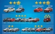 ستاره های کیفی 16 محصول ایران خودرو در سال 98