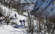 به دنبال عناصر پ.ک.ک در کوهستان برفی