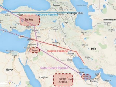 خط لوله قدیمی نفت سوریه فرصتی برای ایران