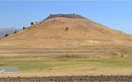 تخریب کامل قلعه توراغ تپه با قدمت هزاره اول پیش از میلاد در دشت مریوان
