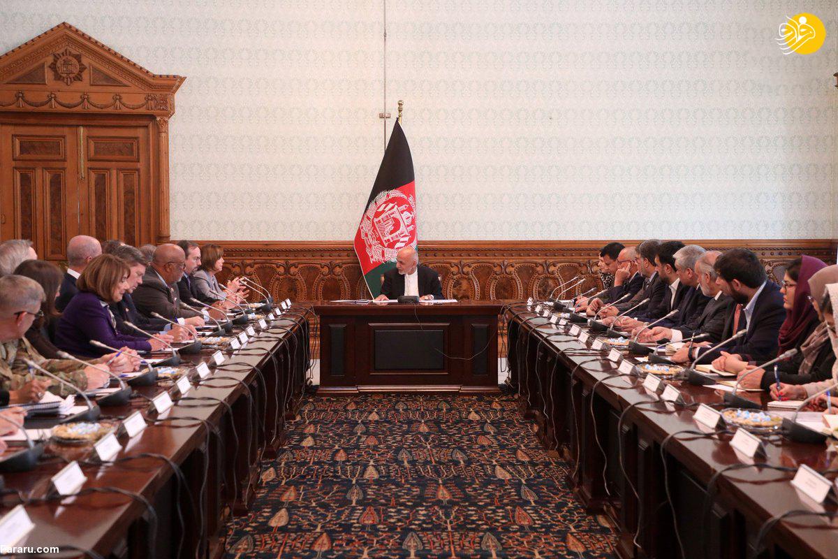 دیدارهای نانسی پلوسی در افغانستان