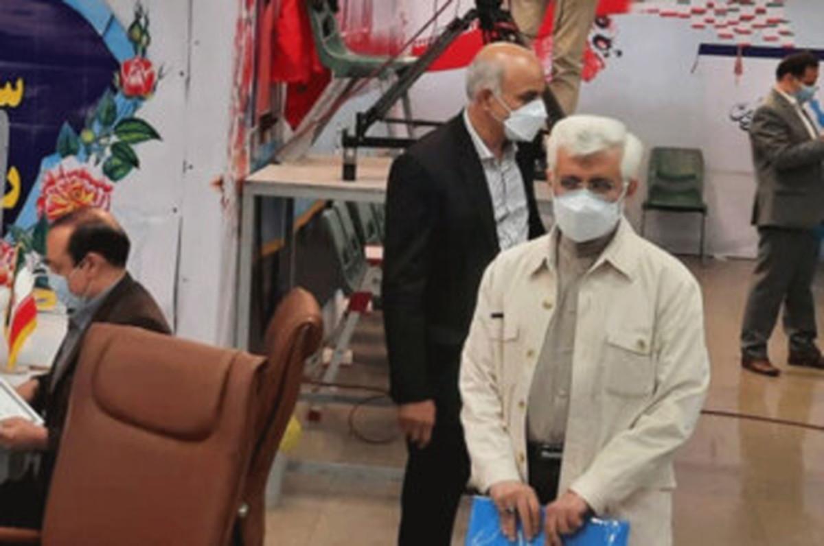 توئیت حمایتی جلیلی از کاندیداتوری ابراهیم رئیسی