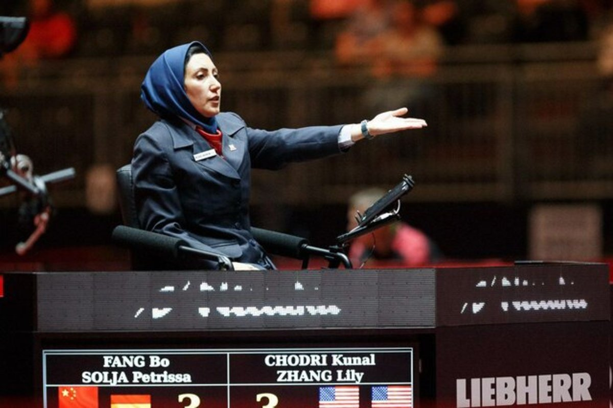 سیمین رضایی داور زن ایران در المپیک ۲۰۲۰ توکیو