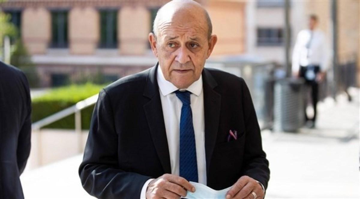 وزیر خارجه فرانسه: طالبان دروغ می گوید