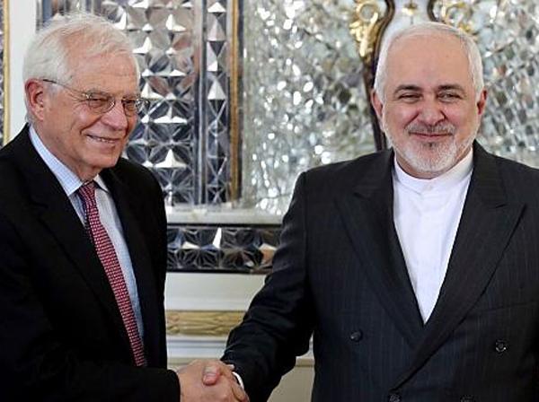 جوزپ بورل |   درخواست ایران برای فعال شدن مکانیسم ماشه برجام در نامه ی ظریف
