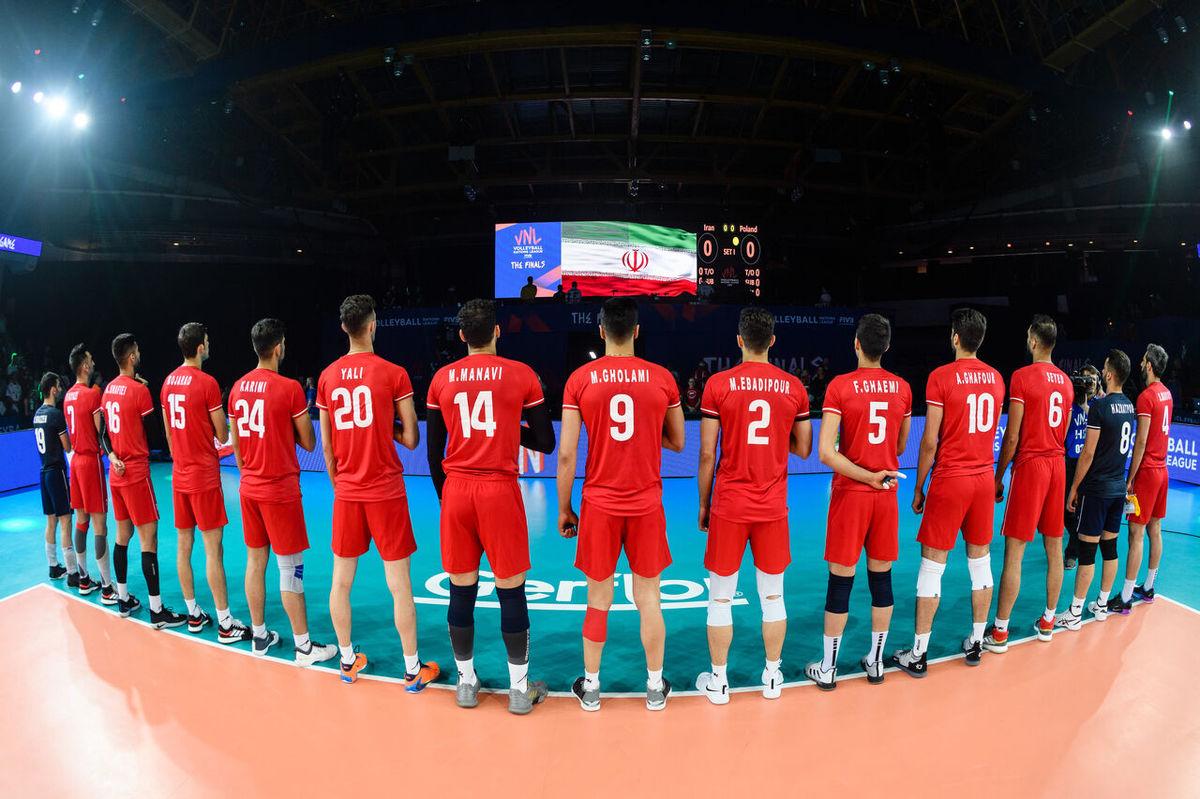 لیست ۱۲ نفره تیم ملی والیبال منتشرشد