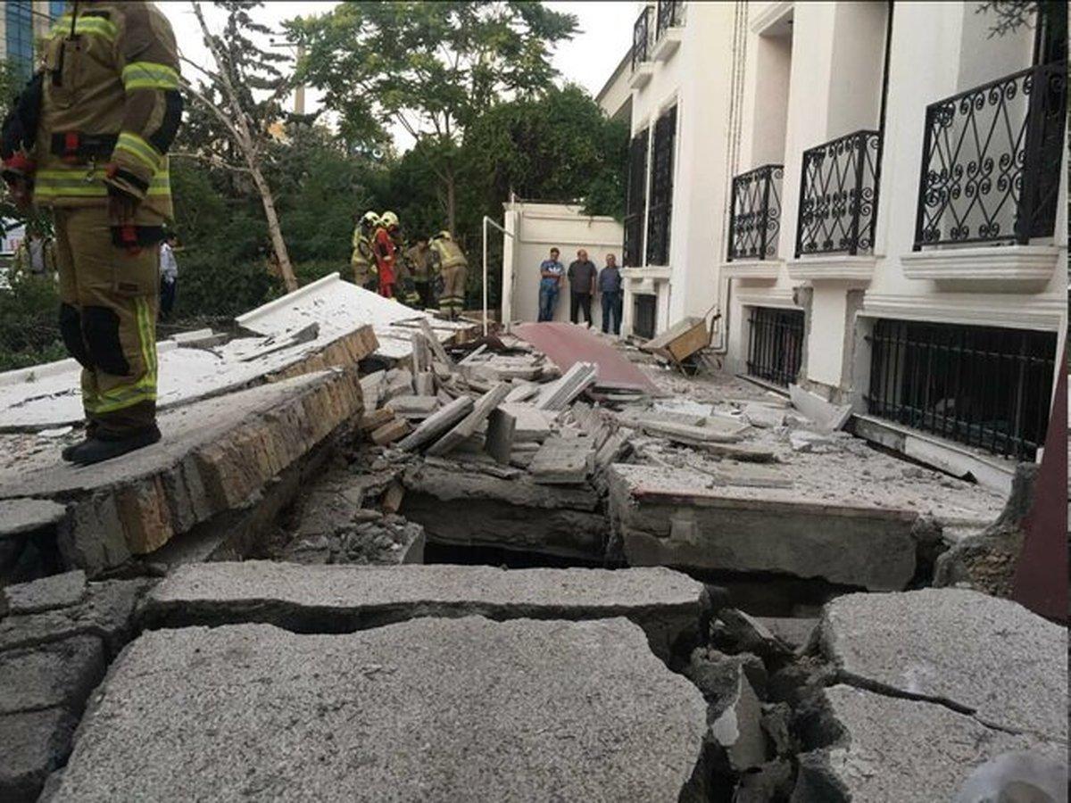 حادثه انفجار واقع در شهرک غرب در ساختمان مسکونی ویلایی