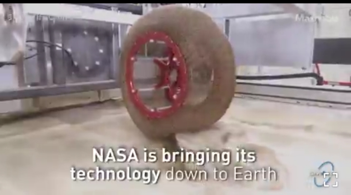 ناسا تکنولوژی خود را بر روی زمین آورد + ویدئو