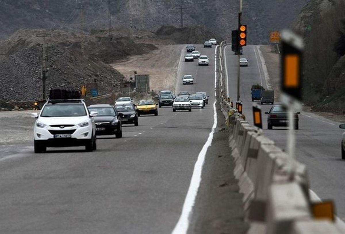 ترافیک در جادههای مازندران پرحجم و روان/  یک میلیون و ۲۵۰ هزار خودرو به مازندران