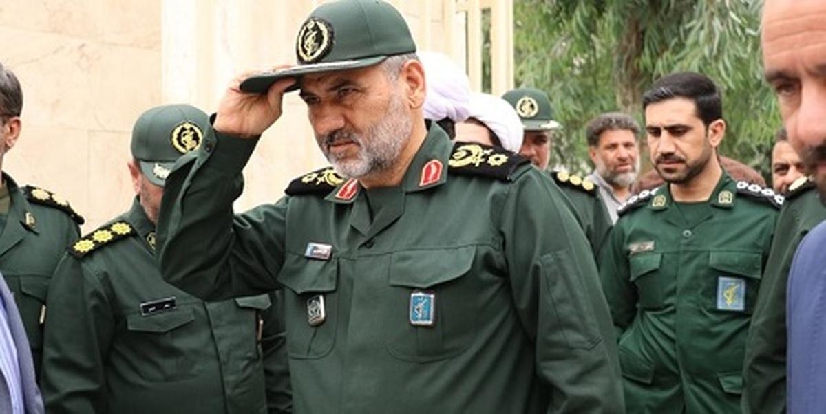 تحریم مجدد فرمانده سپاه خوزستان توسط آمریکا