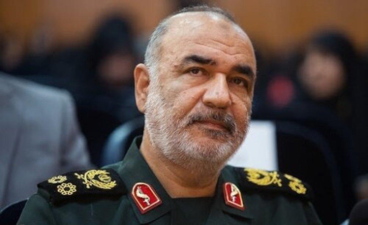 سرلشکر سلامی: سپاه مبدأ هرگونه تهاجمی را هدف قرار میدهد
