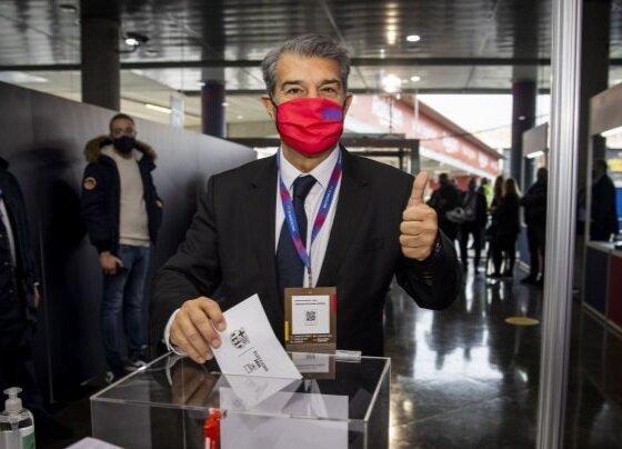 لاپورتا رییس باشگاه بارسلونا شد