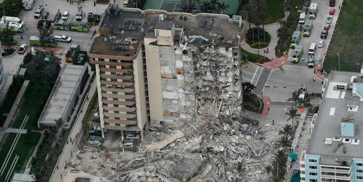 ۲۰ تن از مفقودیهای ساختمان فروریخته فلوریدا، اسرائیلی هستند
