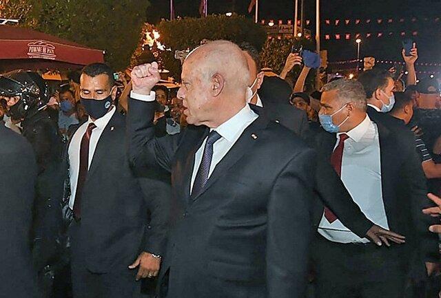 مصر و الجزایر بر حمایت کامل از رئیسجمهوری تونس توافق کردند