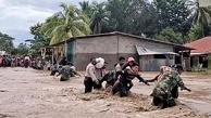 سیل در اندونزی و تیمور شرقی جان بیش از ۷۰ نفر را گرفت