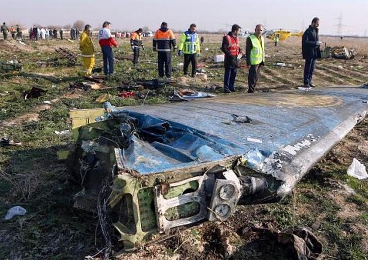 """درخواست 5 کشور از ایران برای """"شفافیت"""" درباره حادثه سقوط «هواپیمای اوکراینی»"""
