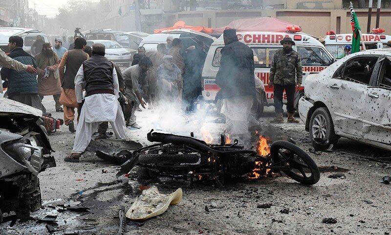 انفجار در پاکستان جان ۹ نفر را گرفت