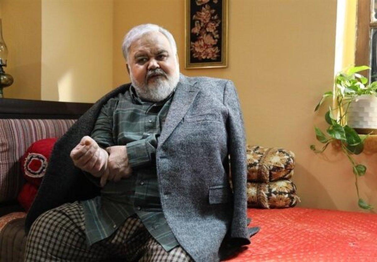 اکبر عبدی به دلیل ابتلا به کرونا در بیمارستان بستری شد |  المیرا عبدی: پدرم چون عمل قلب کرده بود بستری شد؛ امروز مرخص میشود