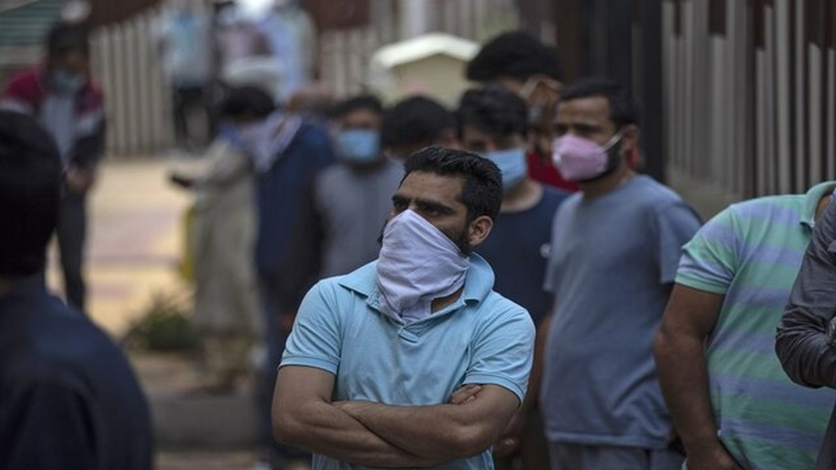 آمار روزانه مبتلایان کرونا در هند کاهش یافت