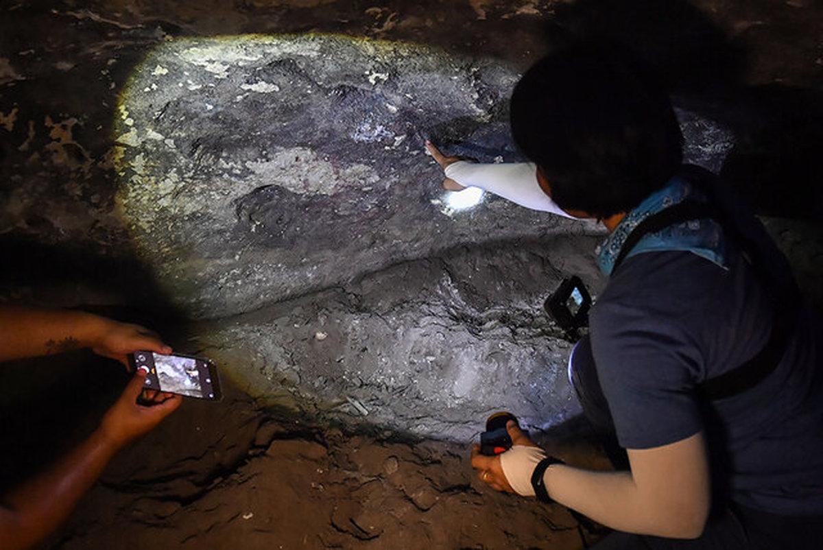 کشف سنگنگارههای ماقبلتاریخ در تایلند