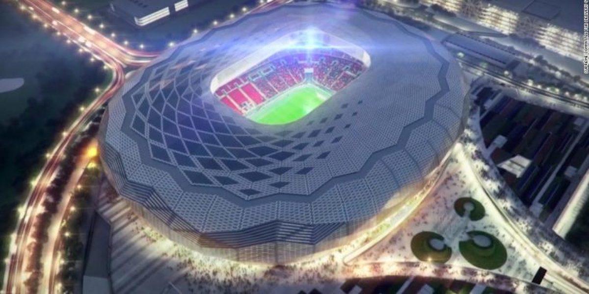 الماس صحرا  | افتتاح سومین استادیوم قطر برای جام جهانی فوتبال ۲۰۲۲ +عکس