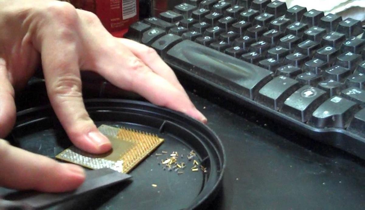 استخراج طلا از کامپیوترهای قدیمی   از هر کامپیوتر چقدر طلا میتوان استخراج کرد؟