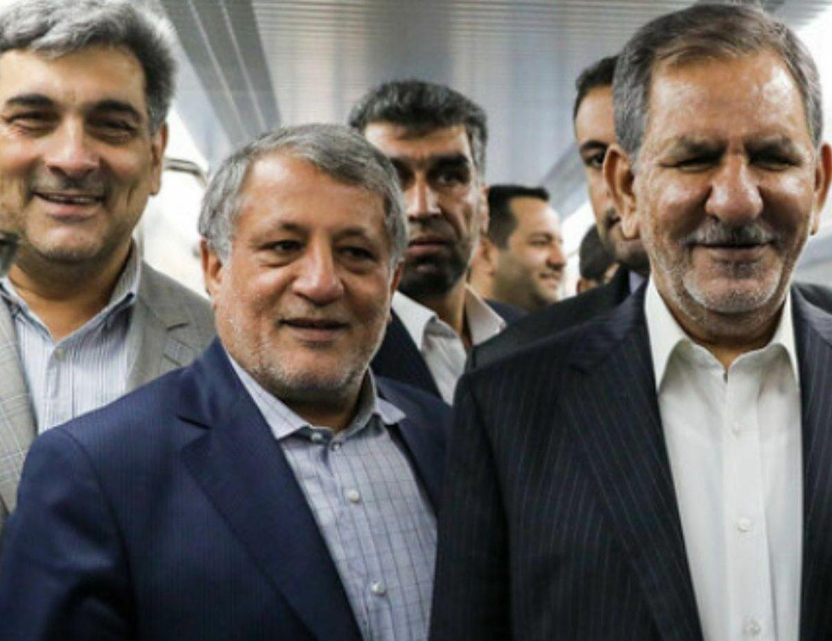 از میان جهانگیری و محسن هاشمی یکی باید بماند