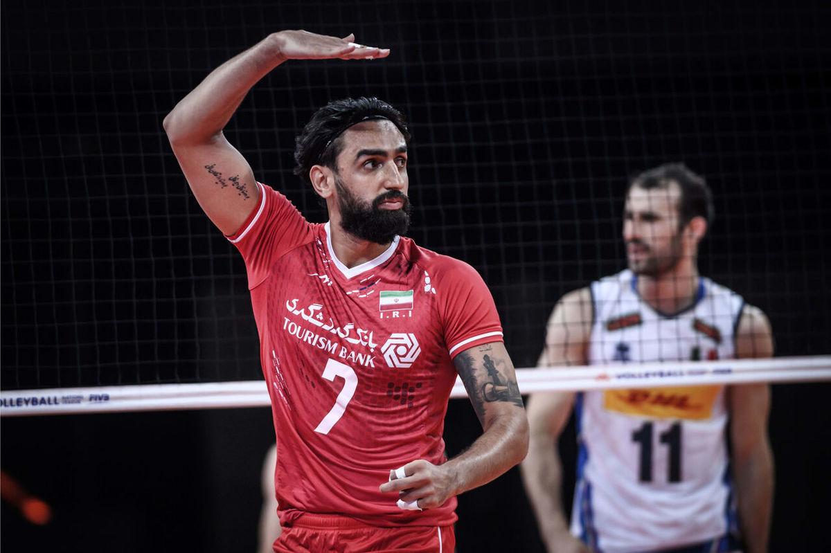 تیم ملی والیبال ایران برای نخستین بار ششم جهان شد