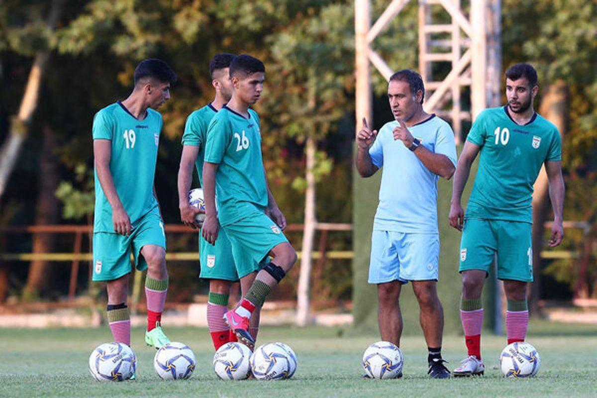 اسامی بازیکنان اعزامی تیم فوتبال امید به تاجیکستان اعلام شد